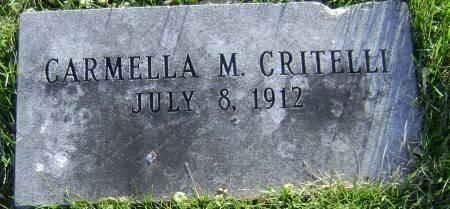 CRITELLI, CARMELLA M - Polk County, Iowa | CARMELLA M CRITELLI