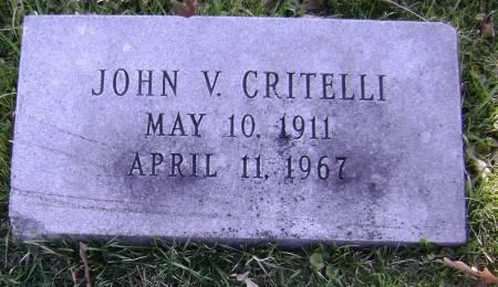 CRITELLI, JOHN V - Polk County, Iowa | JOHN V CRITELLI