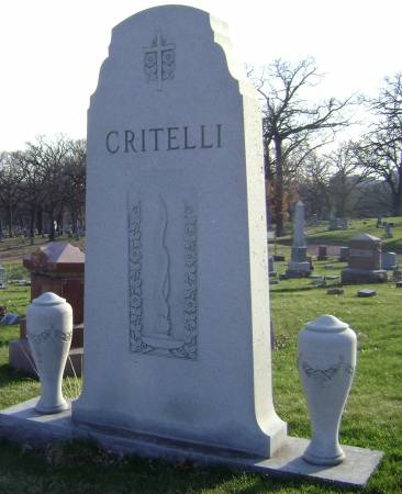 CRITELLI, JOHN D - Polk County, Iowa | JOHN D CRITELLI
