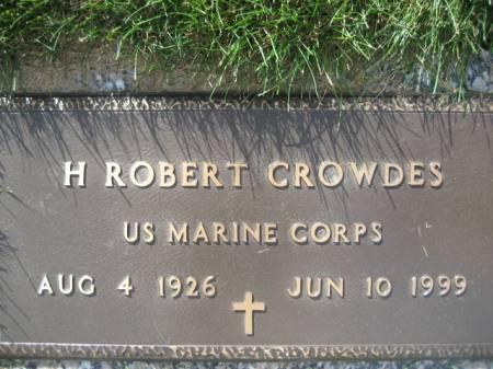 CROWDES, H. ROBERT - Polk County, Iowa | H. ROBERT CROWDES