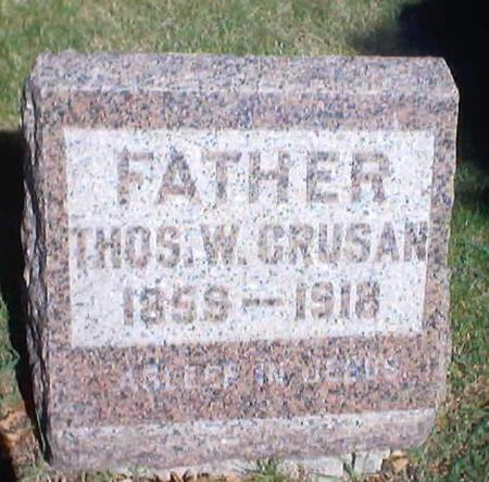 CRUSAN, THOMAS WILLIAM - Polk County, Iowa | THOMAS WILLIAM CRUSAN