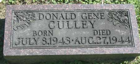 CULLEY, DONALD GENE - Polk County, Iowa | DONALD GENE CULLEY