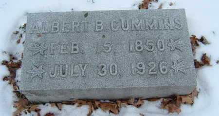 CUMMINS, ALBERT B. - Polk County, Iowa | ALBERT B. CUMMINS