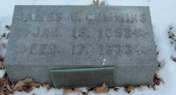 CUMMINS, JAMES C. - Polk County, Iowa   JAMES C. CUMMINS