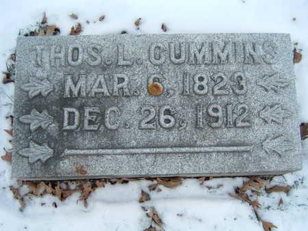 CUMMINS, THOS. L. - Polk County, Iowa   THOS. L. CUMMINS