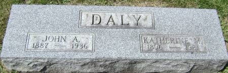 DALY, JOHN A - Polk County, Iowa | JOHN A DALY