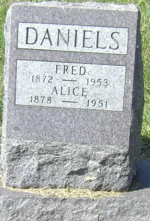 DANIELS, ALICE - Polk County, Iowa | ALICE DANIELS