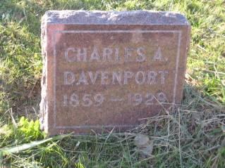 DAVENPORT, CHARLES - Polk County, Iowa   CHARLES DAVENPORT