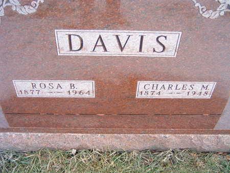 DAVIS, CHARLES M. - Polk County, Iowa | CHARLES M. DAVIS