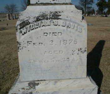 DAVIS, WILLIAM - Polk County, Iowa | WILLIAM DAVIS