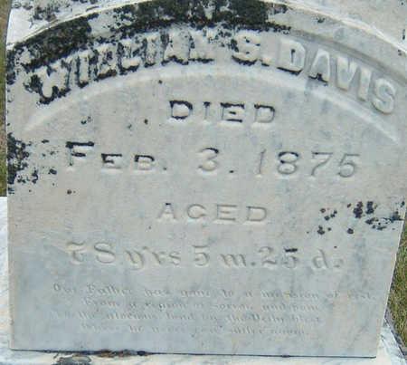 DAVIS, WILLIAM S. - Polk County, Iowa   WILLIAM S. DAVIS