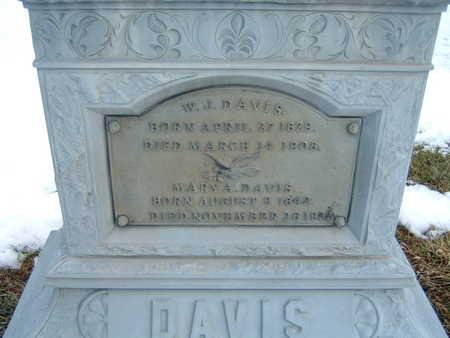 DAVIS, MARY A. - Polk County, Iowa | MARY A. DAVIS