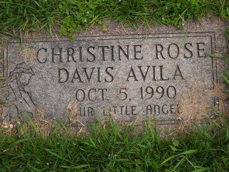 DAVIS AVILA, CHRISTINE ROSE - Polk County, Iowa | CHRISTINE ROSE DAVIS AVILA