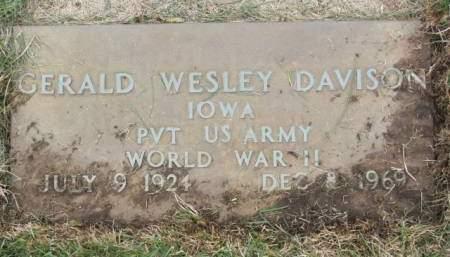 DAVISON, GERALD  WESLEY - Polk County, Iowa | GERALD  WESLEY DAVISON