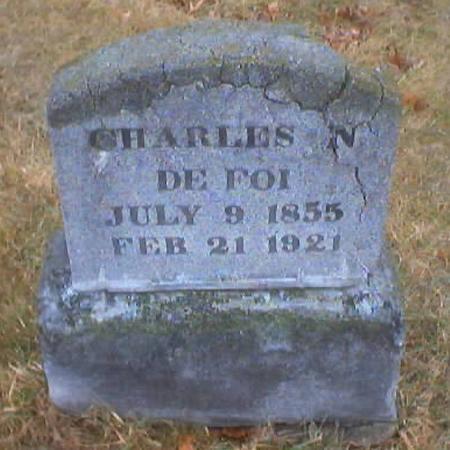 DE FOI, CHARLES N. - Polk County, Iowa | CHARLES N. DE FOI