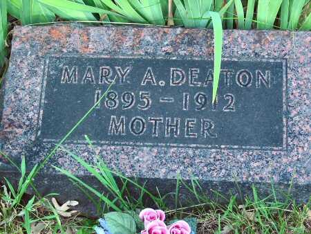DEATON, MARY - Polk County, Iowa   MARY DEATON