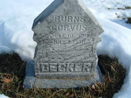 DECKER, BURNS CORVUS - Polk County, Iowa | BURNS CORVUS DECKER