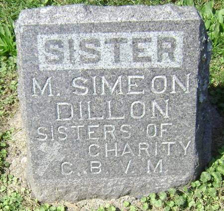 DILLON, SISTER MARY SIMEON - Polk County, Iowa | SISTER MARY SIMEON DILLON