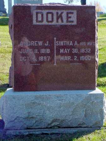 DOKE, ANDREW J. - Polk County, Iowa | ANDREW J. DOKE
