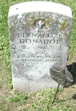 DONAHOE, BERNARD F - Polk County, Iowa | BERNARD F DONAHOE