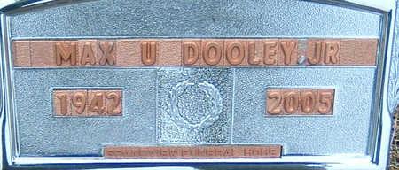 DOOLEY, MAX - Polk County, Iowa   MAX DOOLEY