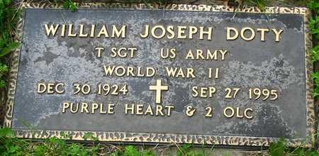 DOTY, WILLIAM JOSEPH - Polk County, Iowa   WILLIAM JOSEPH DOTY