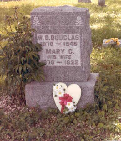 STUTZMAN DOUGLAS, MARY CHRISTINE - Polk County, Iowa | MARY CHRISTINE STUTZMAN DOUGLAS