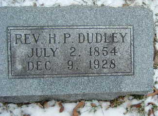 DUDLEY, REV. H. P. - Polk County, Iowa | REV. H. P. DUDLEY