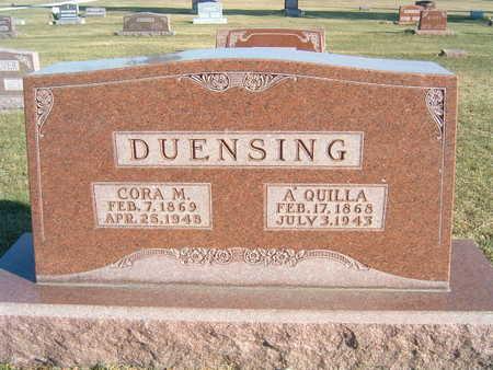 DUENSING, A. QUILLA - Polk County, Iowa | A. QUILLA DUENSING