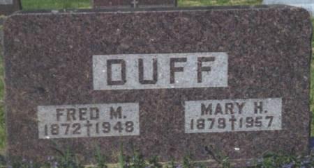 DUFF, FRED M. - Polk County, Iowa | FRED M. DUFF