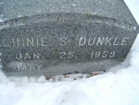 DUNKLE, LINNIE S. - Polk County, Iowa   LINNIE S. DUNKLE