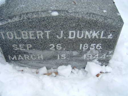 DUNKLE, TOLBERT J. - Polk County, Iowa   TOLBERT J. DUNKLE