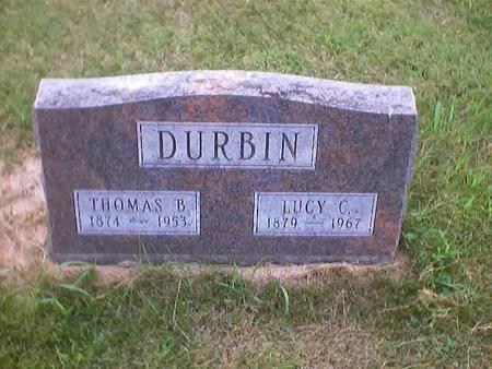 DURBIN, THOMAS B. - Polk County, Iowa | THOMAS B. DURBIN
