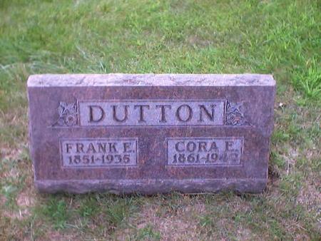 DUTTON, FRANK E. - Polk County, Iowa | FRANK E. DUTTON