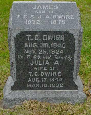 HOWARD DWIRE, JULIA A. - Polk County, Iowa | JULIA A. HOWARD DWIRE