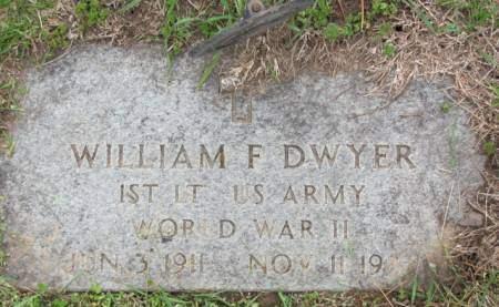 DWYER, WILLIAM  F. - Polk County, Iowa   WILLIAM  F. DWYER