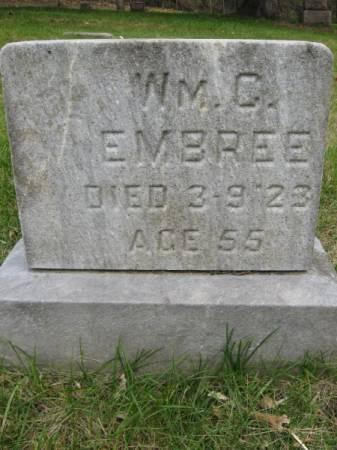 EMBREE, WILLIAM - Polk County, Iowa | WILLIAM EMBREE