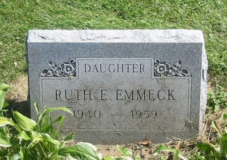 EMMECK, RUTH E. - Polk County, Iowa | RUTH E. EMMECK