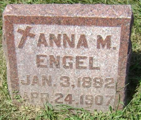 ENGEL, ANNA M - Polk County, Iowa   ANNA M ENGEL