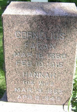 FAGAN, CORNELIUS - Polk County, Iowa | CORNELIUS FAGAN