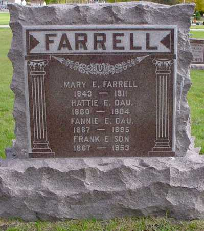 FARRELL, FANNIE E. - Polk County, Iowa | FANNIE E. FARRELL