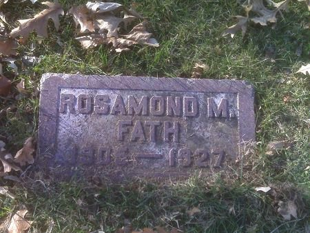 FATH, ROSAMOND - Polk County, Iowa | ROSAMOND FATH