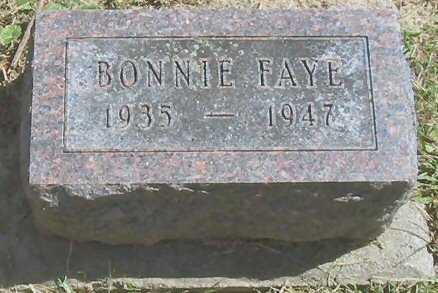 FAYE, BONNIE - Polk County, Iowa | BONNIE FAYE