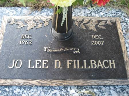 FILLBACH, JO LEE D - Polk County, Iowa   JO LEE D FILLBACH