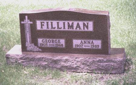 FILLIMAN, ANNA - Polk County, Iowa | ANNA FILLIMAN