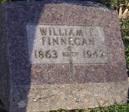FINNEGAN, WILLIAM F - Polk County, Iowa   WILLIAM F FINNEGAN
