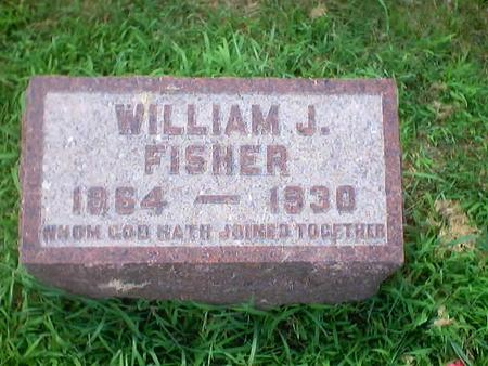 FISHER, WILLIAM J. - Polk County, Iowa | WILLIAM J. FISHER