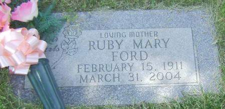 FORD, RUBY MARY - Polk County, Iowa | RUBY MARY FORD