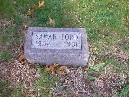 FORD, SARAH - Polk County, Iowa | SARAH FORD