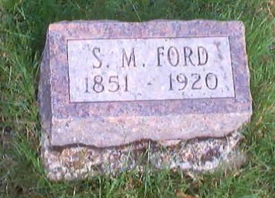 FORD, S. M. - Polk County, Iowa   S. M. FORD